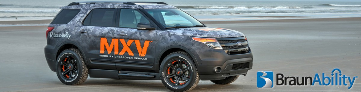 BraunAbility MXV Wheelchair Accessible SUV Ford Explorer Florida<
