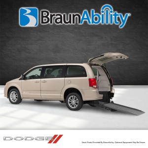BraunAbility Dodge Manual Rear